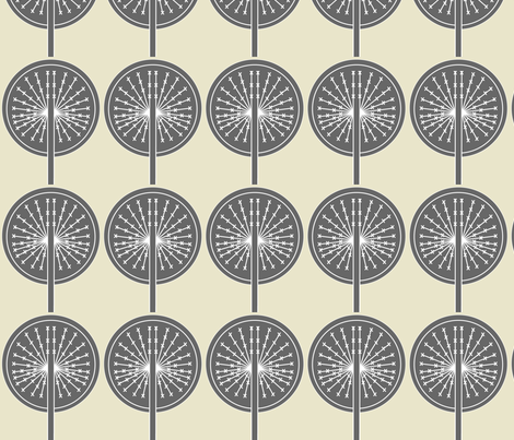dandelion13 fabric by sary on Spoonflower - custom fabric