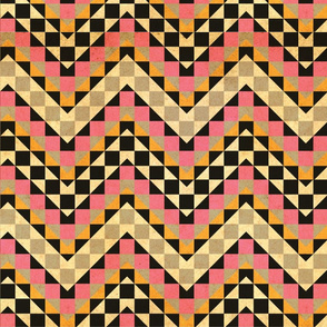 vintage pink squares