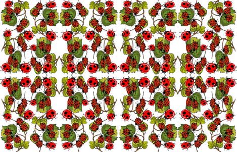 BUSY BUGS fabric by bluevelvet on Spoonflower - custom fabric