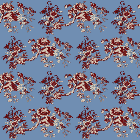 My Home Town / 3 fabric by paragonstudios on Spoonflower - custom fabric