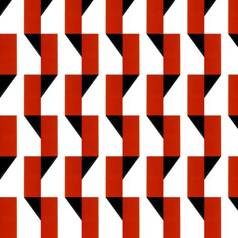 Geo Snake fabric by stoflab on Spoonflower - custom fabric