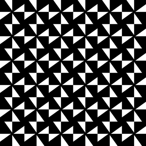 Black Star fabric by stoflab on Spoonflower - custom fabric