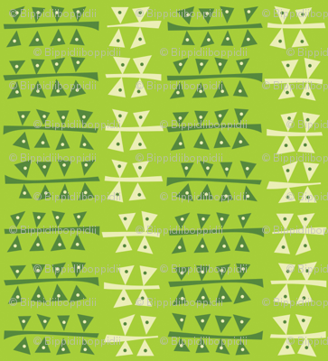 Triangulated (lime)