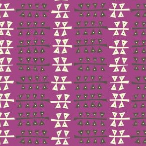 Triangulated (Purple)