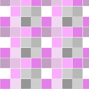 Squares & Stripes Community Pink