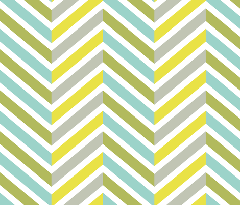 Vintage Chevron fabric by bliss_24 on Spoonflower - custom fabric