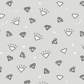 ditsy diamond doodle