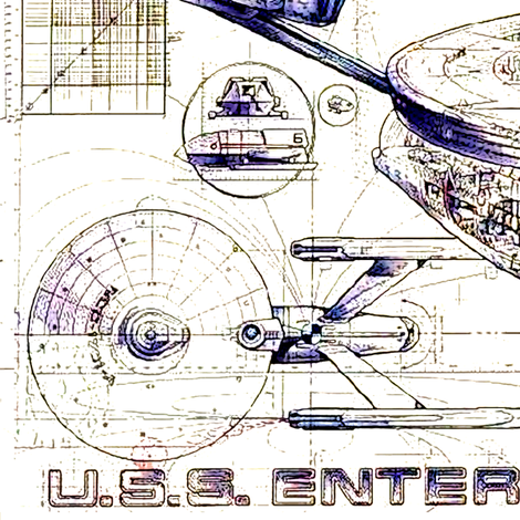Enterprise Vintage Schematics