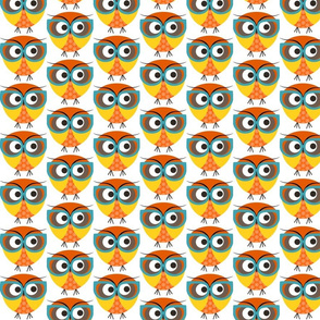 Geeky Owl Color