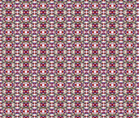 LILACS N LADYBUGS MINI PRINT fabric by bluevelvet on Spoonflower - custom fabric