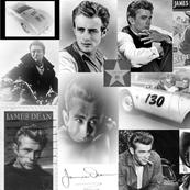 JAMES DEAN B & W