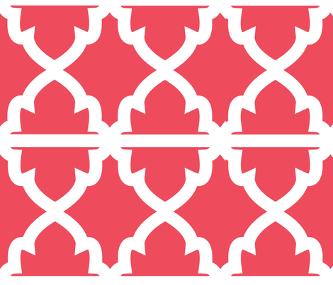 Shanna II fabric by ashleycooperdesign on Spoonflower - custom fabric