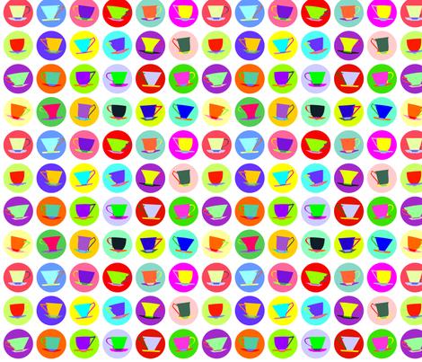 cup spots (white/multi)