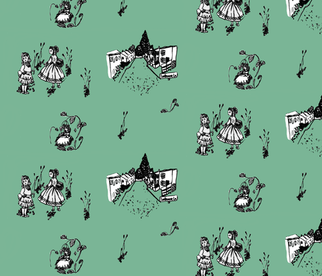 Alton, Hampshire & The story of Sweet Fanny Adams fabric by kimberly-ann on Spoonflower - custom fabric