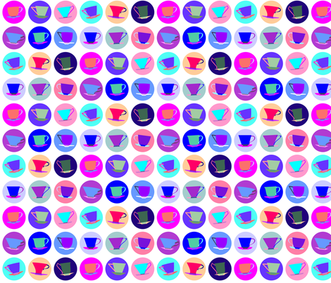 cup spots (pastel-ish) fabric by bippidiiboppidii on Spoonflower - custom fabric