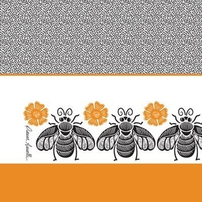 Honey Bee Placemat