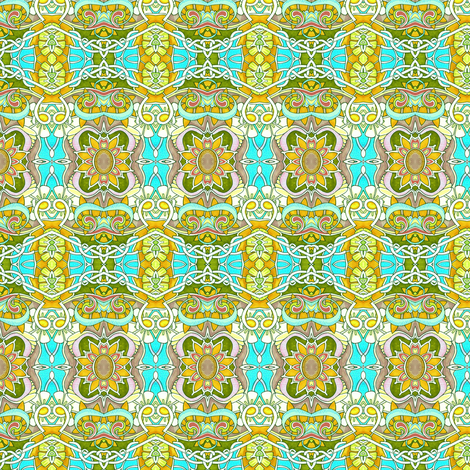 Luau on the Beach fabric by edsel2084 on Spoonflower - custom fabric