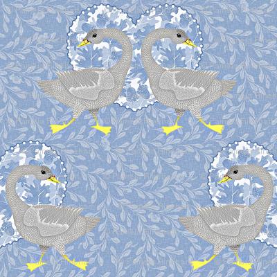 blue grey goose
