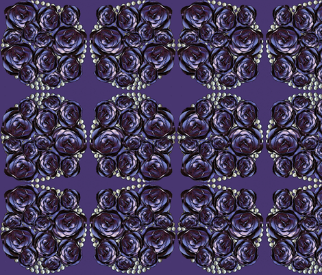purplepearls fabric by kociara on Spoonflower - custom fabric
