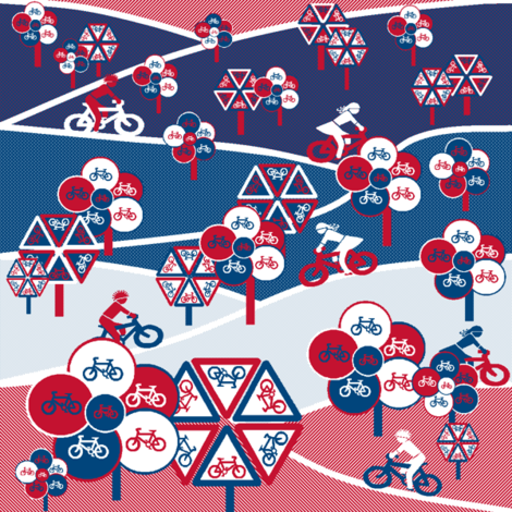 Bike park fabric by elizabethjones on Spoonflower - custom fabric