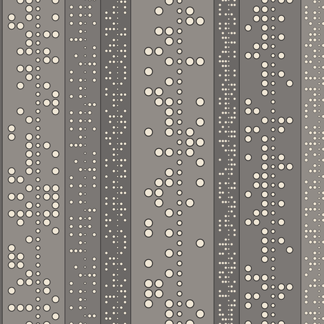 Punch Tape (in grays) fabric by meduzy on Spoonflower - custom fabric