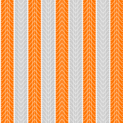 Bike Tread Orange Grey