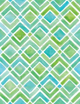 Limeade Geometric
