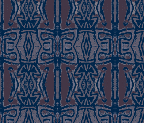 Muddy Water fabric by susaninparis on Spoonflower - custom fabric