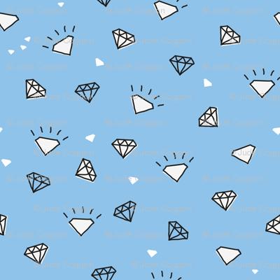 ditsy diamonds_pale blue