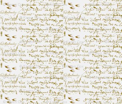 Anita's Inspiration Tiny print for Dollhouse