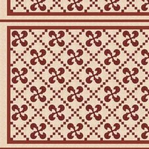 Solomon's Puzzle Mini Quilt