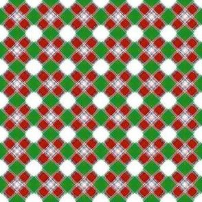 Hugs n Kisses_Plaid__-red_-green