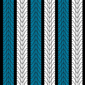 Bike Tread Nearly Chevron!