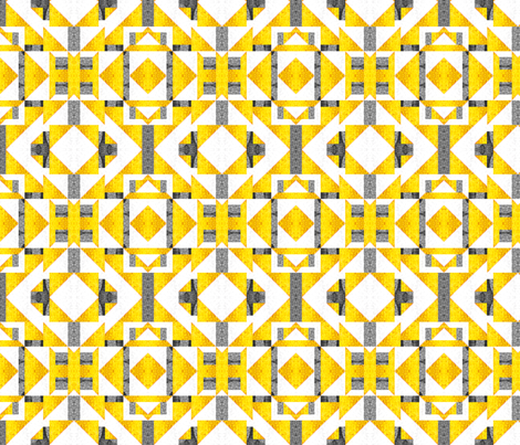 Fun Check with Mirrors fabric by glimmericks on Spoonflower - custom fabric