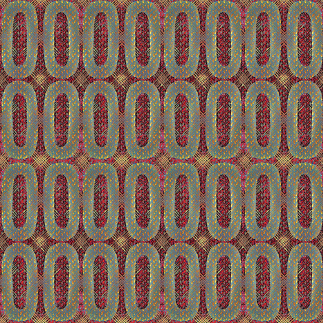 Argyle Love II fabric by glimmericks on Spoonflower - custom fabric