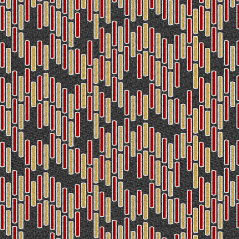 stitchweave mola fabric by glimmericks on Spoonflower - custom fabric