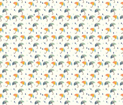 Rainy Days fabric by fabricdrawer on Spoonflower - custom fabric