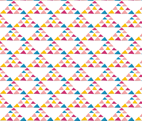 triangles triangle big fabric by studiojelien on Spoonflower - custom fabric