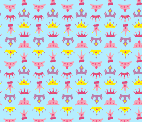 Royalty fabric by wastedwings on Spoonflower - custom fabric