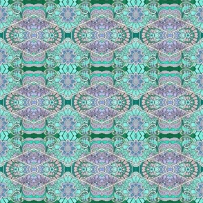 Pastel Hexagon Garden
