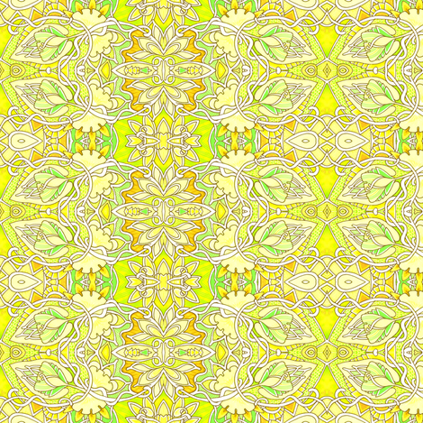 Sunshine Day fabric by edsel2084 on Spoonflower - custom fabric
