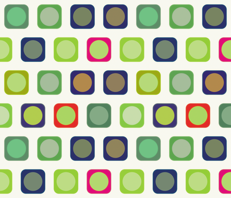 Circle Squares 3, L fabric by animotaxis on Spoonflower - custom fabric