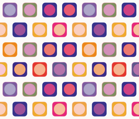 Circle Squares 4, L fabric by animotaxis on Spoonflower - custom fabric