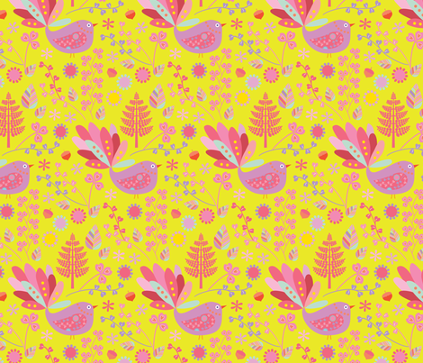 Twig fabric by kayajoy on Spoonflower - custom fabric