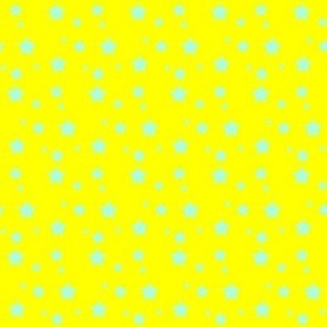 Stars on yellow