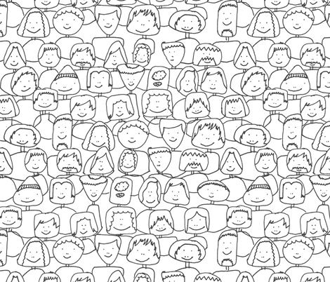 Imagine fabric by studiojelien on Spoonflower - custom fabric