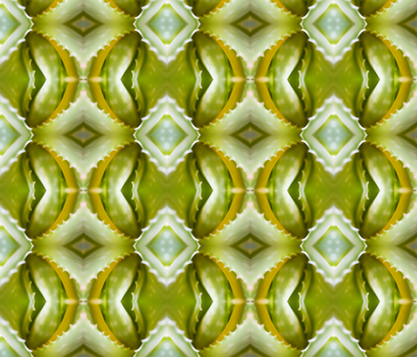 aloe fabric by arianagirl on Spoonflower - custom fabric