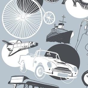 Penny Farthing & Vintage Transport