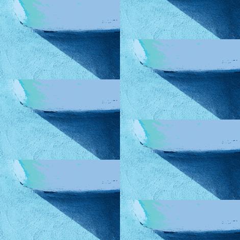 Blue Wall & Shadow fabric by arianagirl on Spoonflower - custom fabric