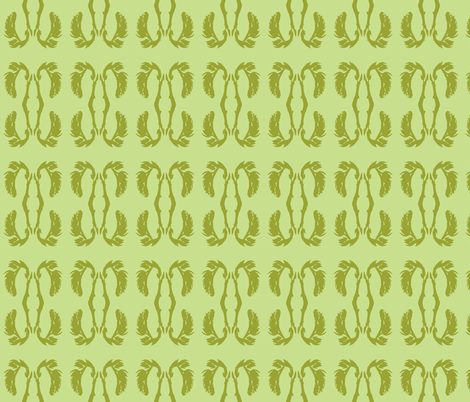 aloe bloom fabric by arianagirl on Spoonflower - custom fabric